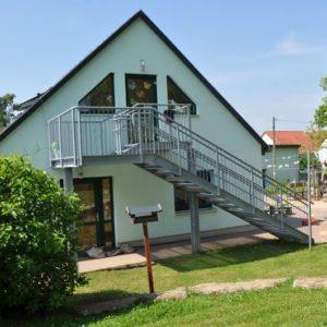 Fluchttreppe KIGA Hohenfelden