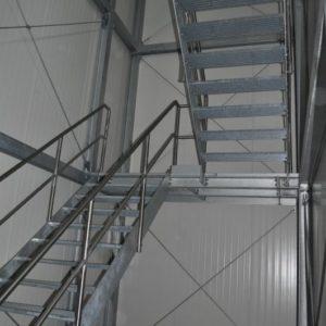 Metallbau-Kumbartzki Treppen gewerbliche Kunden