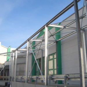 Metallbau-Kumbartzki: Hallenbau und Unterstände